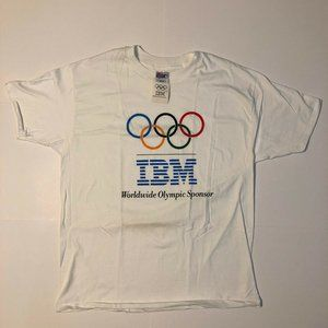 Vintage Olympic IBM T-Shirt, XL, New with tags!